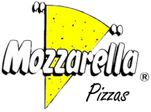 Logotipo da Mozzarela Pizzas
